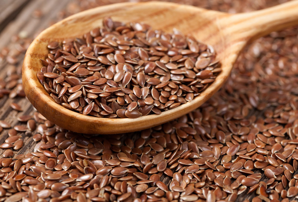 Foods-high-in-estrogen:-Linseed