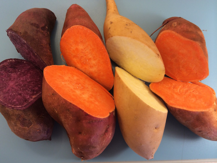Foods-that-are-natural-laxatives:-Sweet-potato