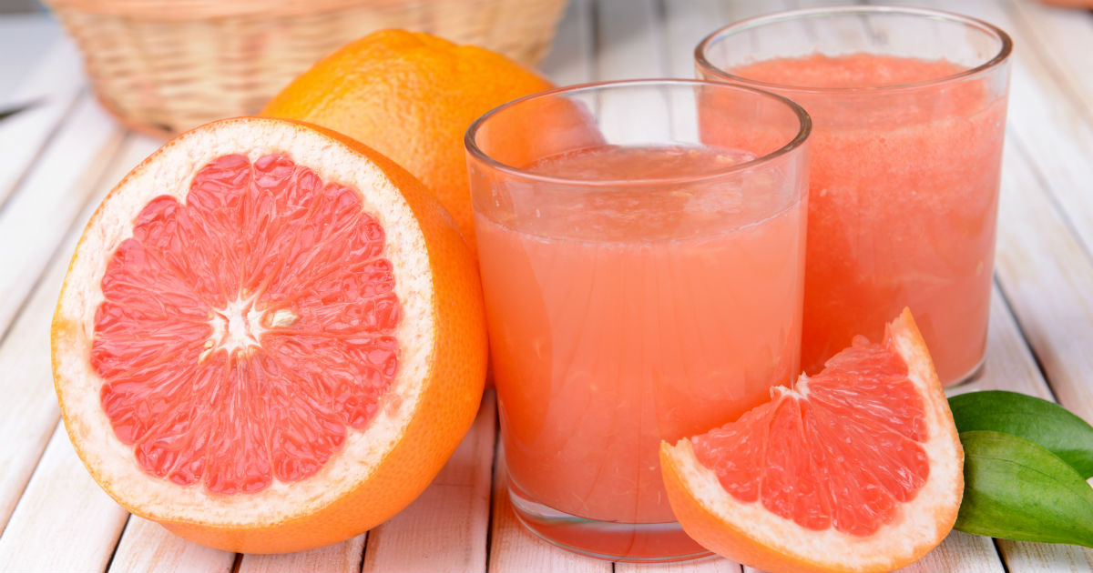 Foods-to-reverse-fatty-liver:-Grapefruit