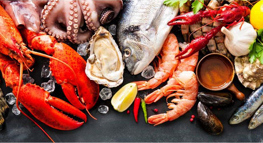 Anemia-treatment-foods-Seafood