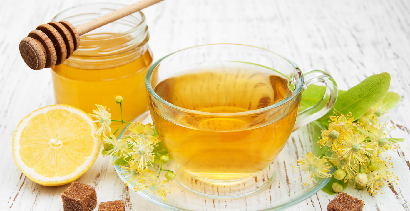 Lose-Weight-By-Honey-with-green-tea