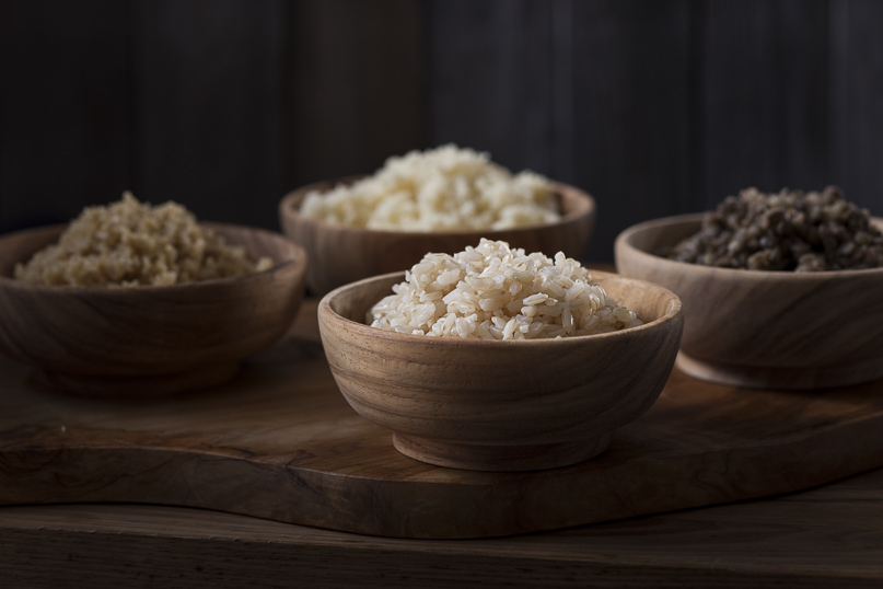 how to brown rice