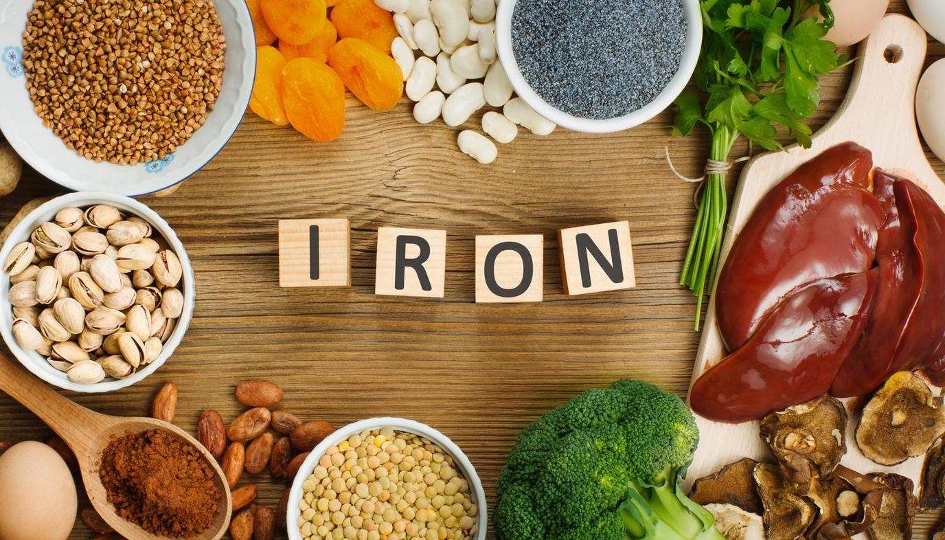 Best-foods-for-hemorrhoids:-Foods-high-in-iron