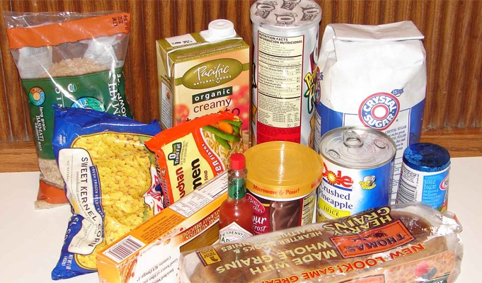 Asthma-triggers-food:-Packaged-foods