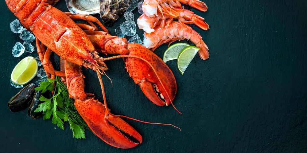 Asthma-triggers-food:-Types-of-shellfish