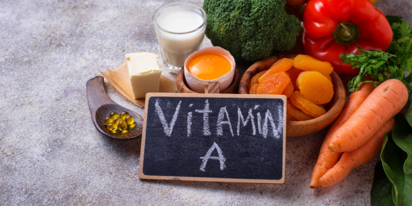 Top-4-vitamin-A-health-benefits-|-Essential-nutrient-for-healthy-bright-eyes