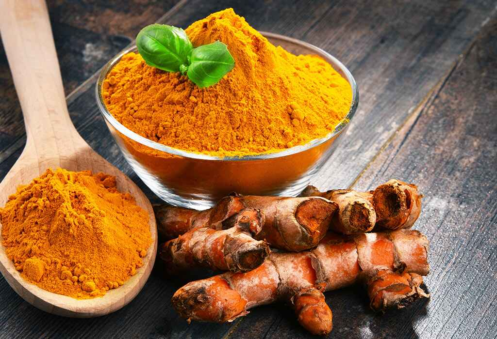 Best-foods-for-stomach-health-Turmeric-and-Honey