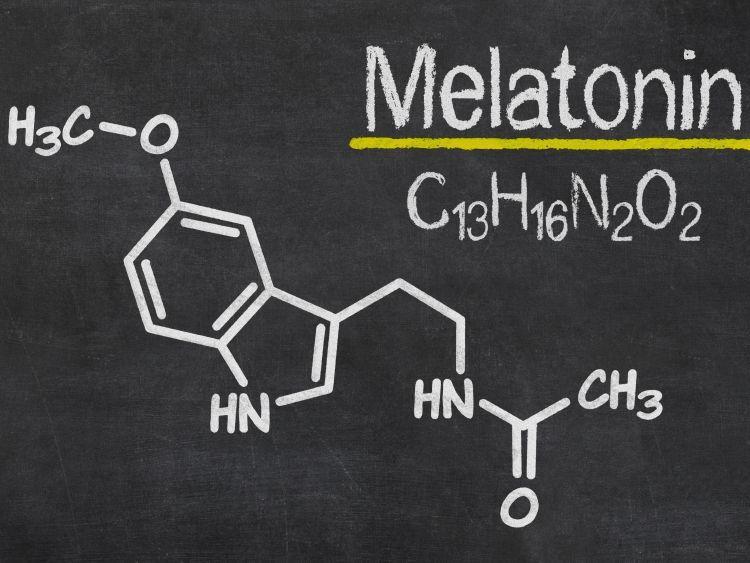 melatonin struct