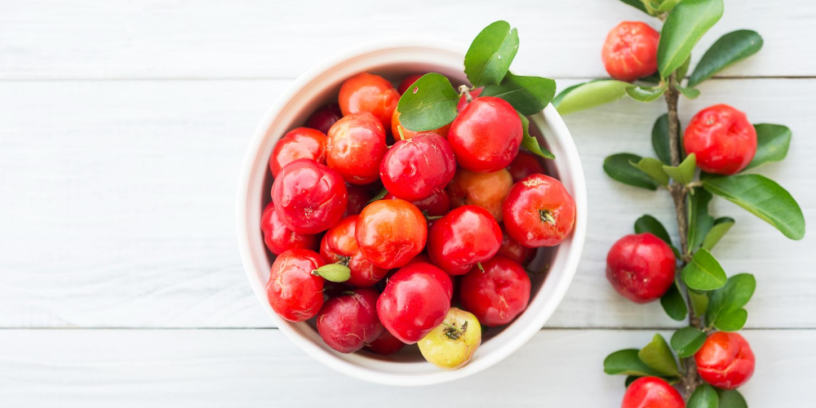 Top-acerola-health-benefits-|-The-fruit-contains-unmatched-vitamin-C-content